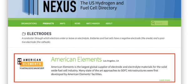HFC Nexus - DEV - Business to business directory of the hydrogen and