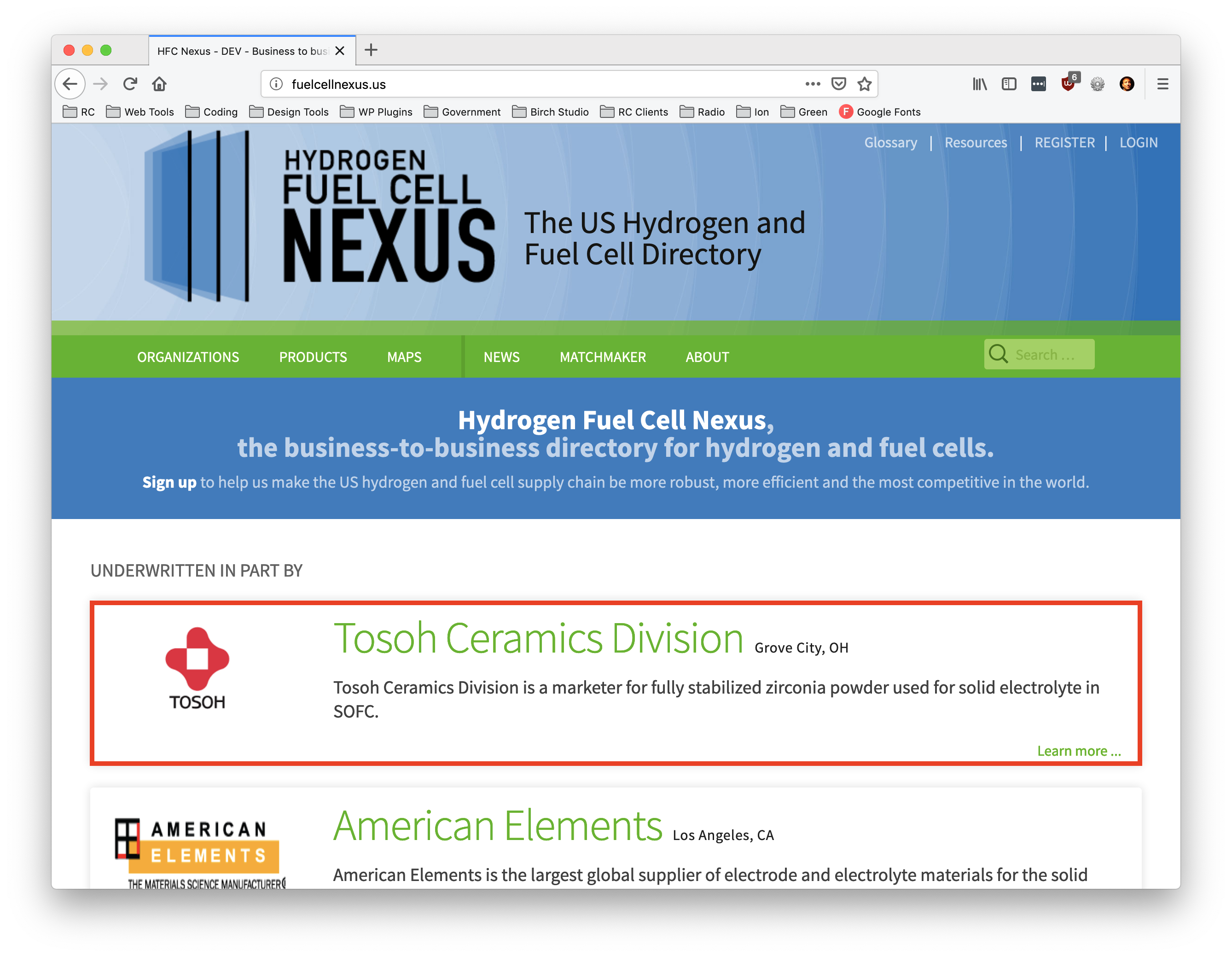 Premium Listings and Advertising – Hydrogen Fuel Cell Nexus